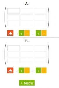 calculadora de matrices online - paso1
