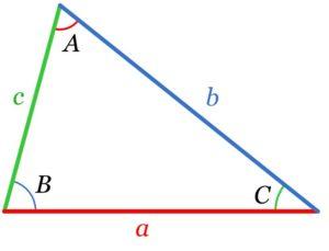 Ley de senos y cosenos - triangulo