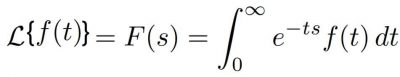 Formula transformada de laplace